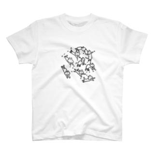 ゆれねこ T-shirts