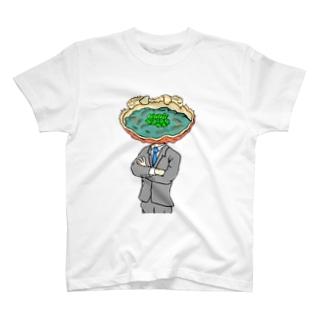 リーダー蟹味噌 T-shirts