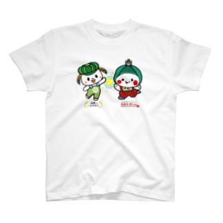 稲敷いなのすけ&もおかぴょん T-shirts