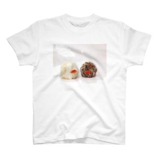 あひる玉 ぬいぐるみプリント/セクシー T-shirts