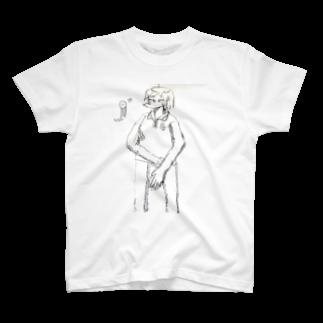 えものいたわりを求める僕の彼女は T-shirts