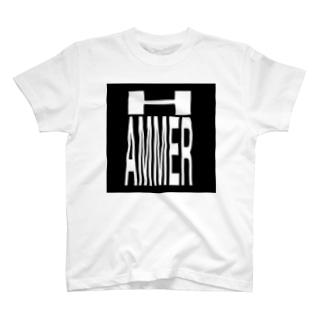 HAMMER/T-shirt/黒 T-shirts