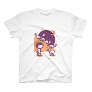 minimum universe / ミニマムユニヴァースのAstronauts - Mars Attacks! T-shirts
