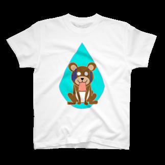 SUZURI 真備支店のあせだくま T-shirts