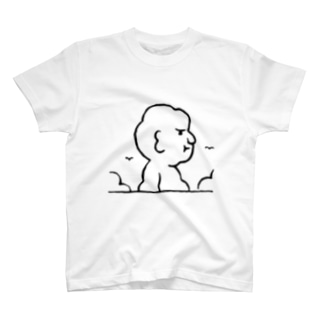 入道さんあらわる T-shirts