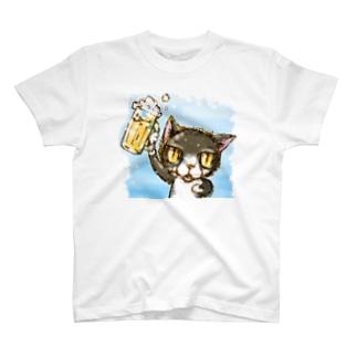 にゃんぱーーい! T-shirts