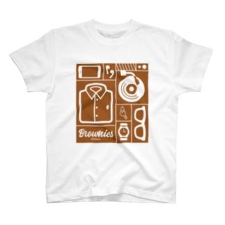 Brownies Works引き出し T-shirts