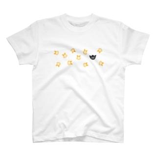 ちらばるロゴマーク T-shirts