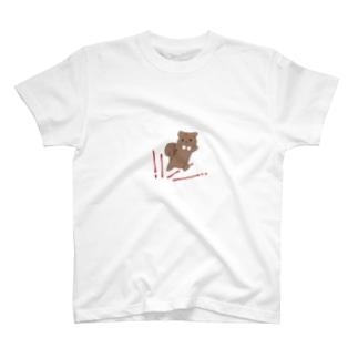 ちょぁ〜!と蹴り出すリス T-shirts