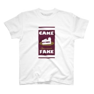 CAKE FAKE T-shirts