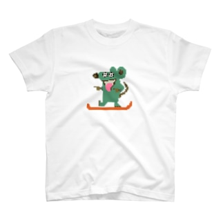 Waka rat Tシャツ 古の色 T-shirts
