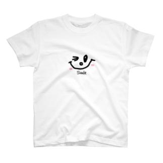 chaamootのいつでもスマイル T-shirts