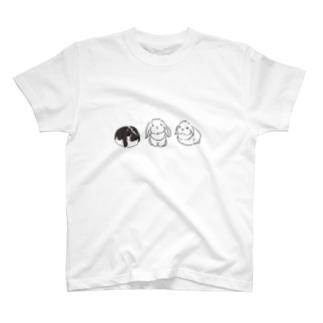 垂れ耳うさーずグッズ T-shirts