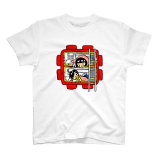 カプセルホテル T-shirts