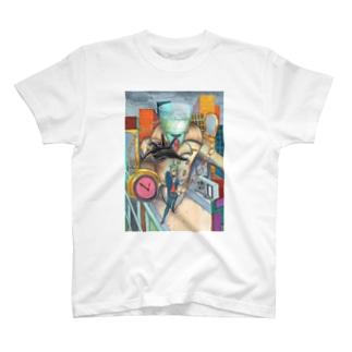 グラスヘッド Tシャツ T-shirts