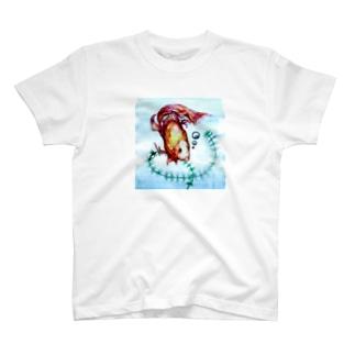 真夏の同居人 T-shirts
