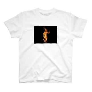 ファイア T-shirts