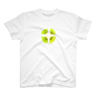 切れてるキウイ T-shirts
