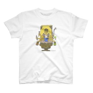 ボルダリング千手観音さま T-shirts