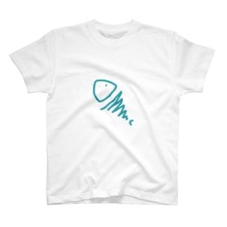 むき出しのさかな T-shirts