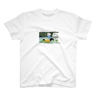 夜、世界を二人で抜け出す(miotorahatiコラボ) T-shirts