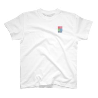 COLOR BOX T (寄附金込) T-shirts