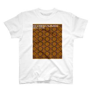 7月NEW「SILVERWOLFMANMMONOGRAM」 T-shirts