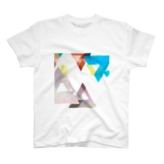 水彩幾何学 T-shirts