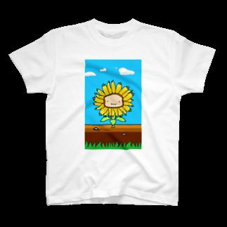 WINGLAYのひまわりーん Tシャツ