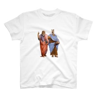 デュシャンとレオナルド T-shirts