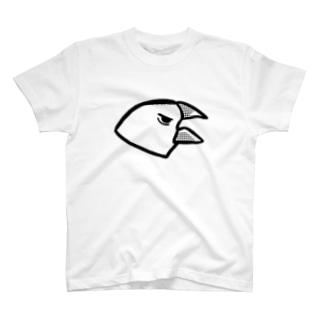 ギャロロ白文鳥 T-shirts