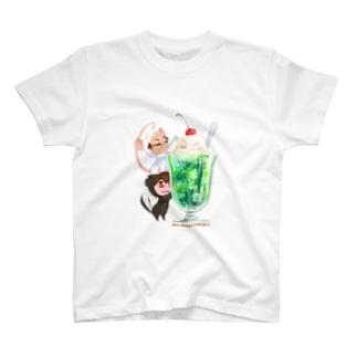 きぐるみーず(クリームソーダ) T-shirts