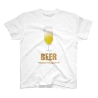 一緒に呑みに行こう!Tシャツ T-shirts