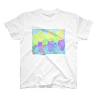 Danke Shoot Coffeeの旧ソ連な水風船 T-shirts