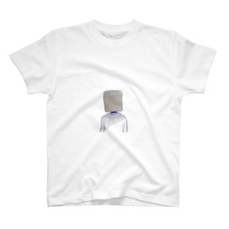 「AIM」ゴミ人 T-shirts
