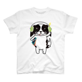 music狆☆ T-shirts