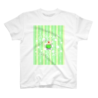 もけぱ日和 くりーむそーだ(らくがき) T-shirts