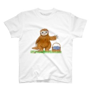 メガテリウムのテリー T-shirts