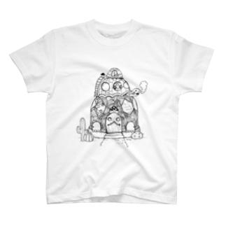 かめさんカフェへようこそ  T-shirts