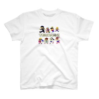 (^ω^)∩  よ⊃のトビダスナ № 006 T-shirts