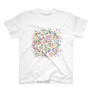 カラフルドット T-shirts