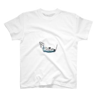 私の風呂の入り方(節水) T-shirts