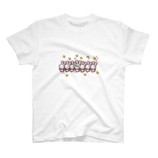 ウサヤギラインダンス T-shirts