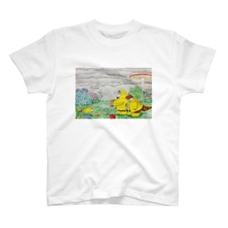 雨の日でも楽しもう! T-shirts