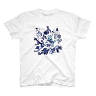 ウニョズ フリーズ T-shirts