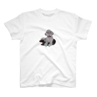 Suisui 切り抜き犬Ⅰ T-shirts