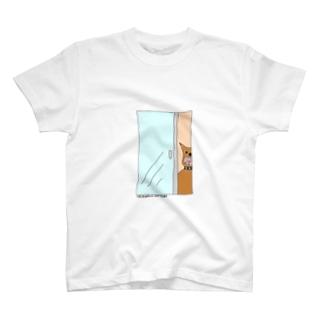 アングラ犬覗きみ隊 T-shirts
