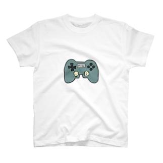 げームコントローラーくん T-shirts