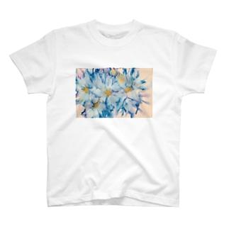 Sea & flower T-shirts