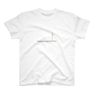 棚と花瓶 T-shirts